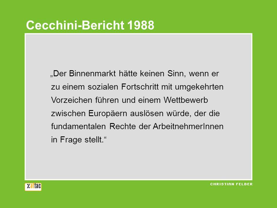 Cecchini-Bericht 1988