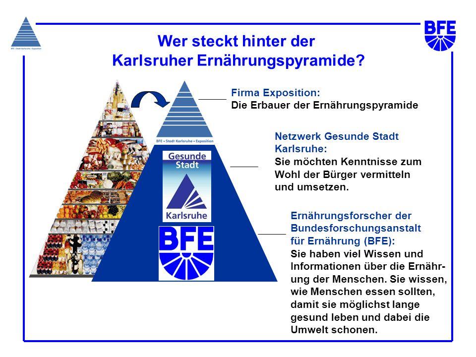 Wer steckt hinter der Karlsruher Ernährungspyramide