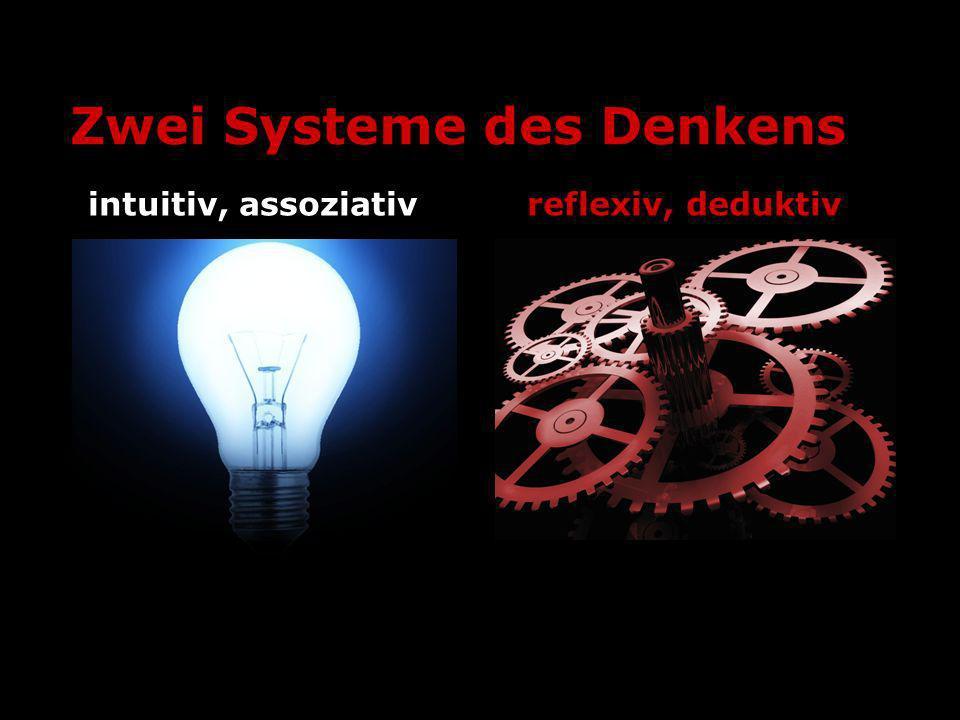 Zwei Systeme des Denkens