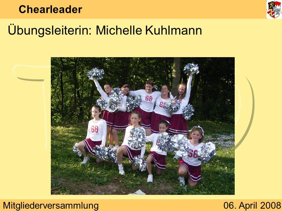 Übungsleiterin: Michelle Kuhlmann