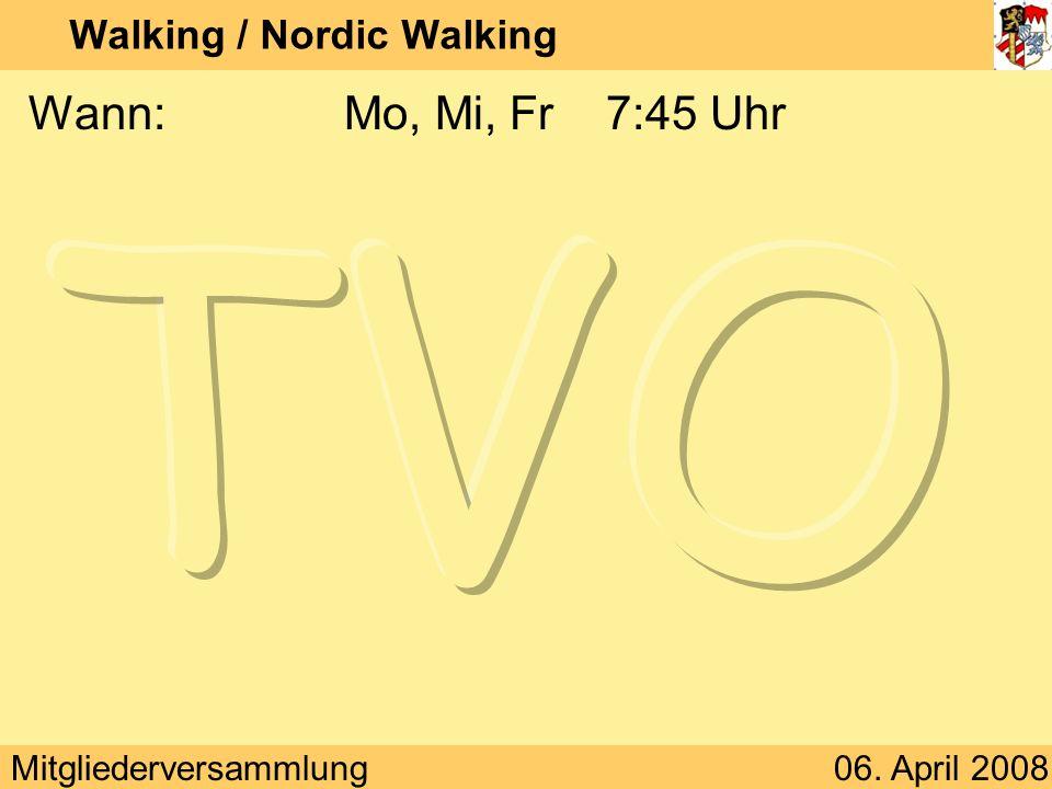 Walking / Nordic Walking