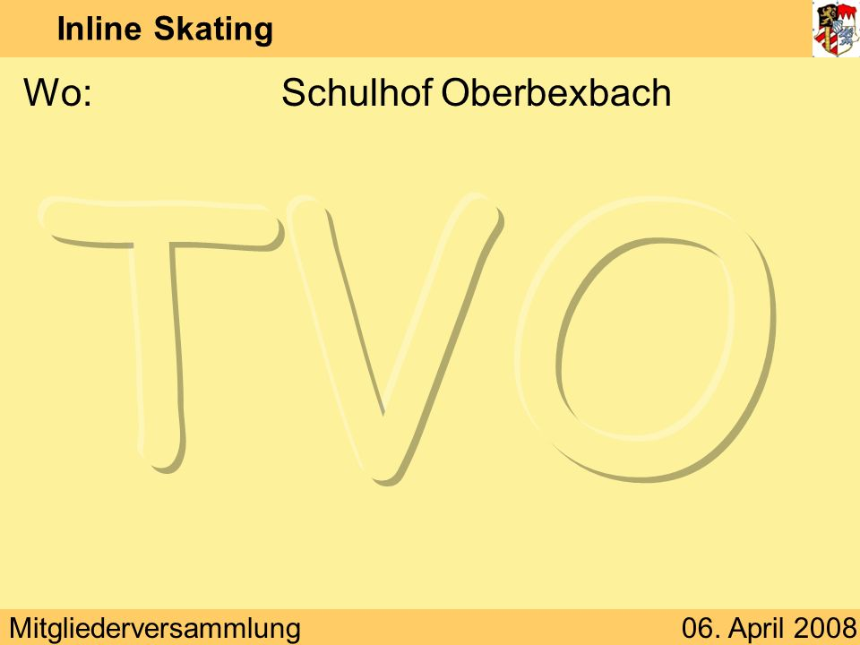Wo: Schulhof Oberbexbach