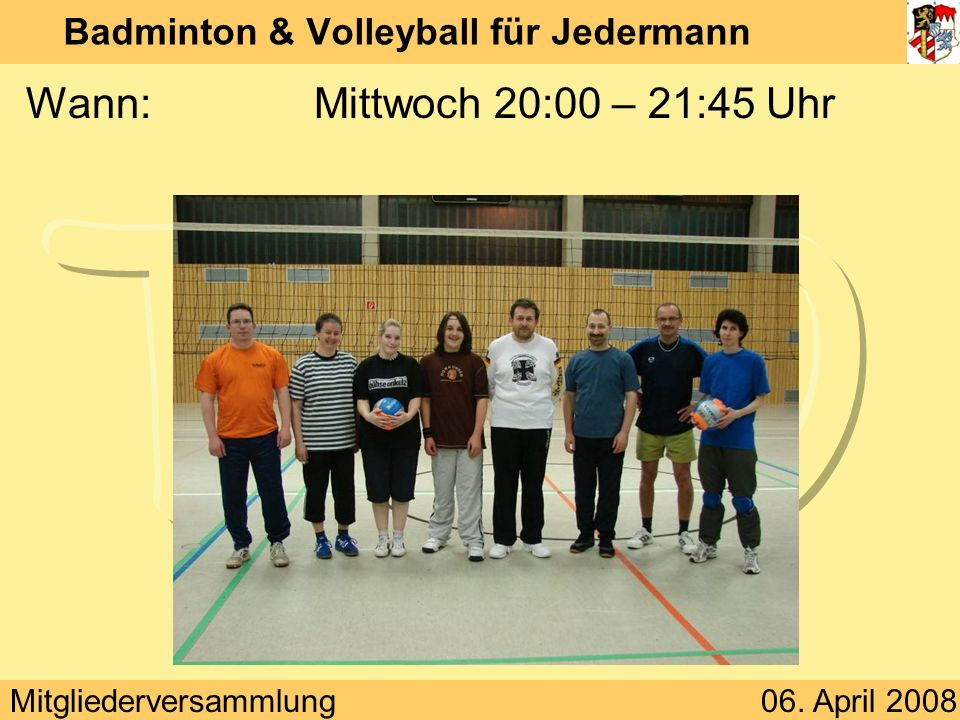 Badminton & Volleyball für Jedermann