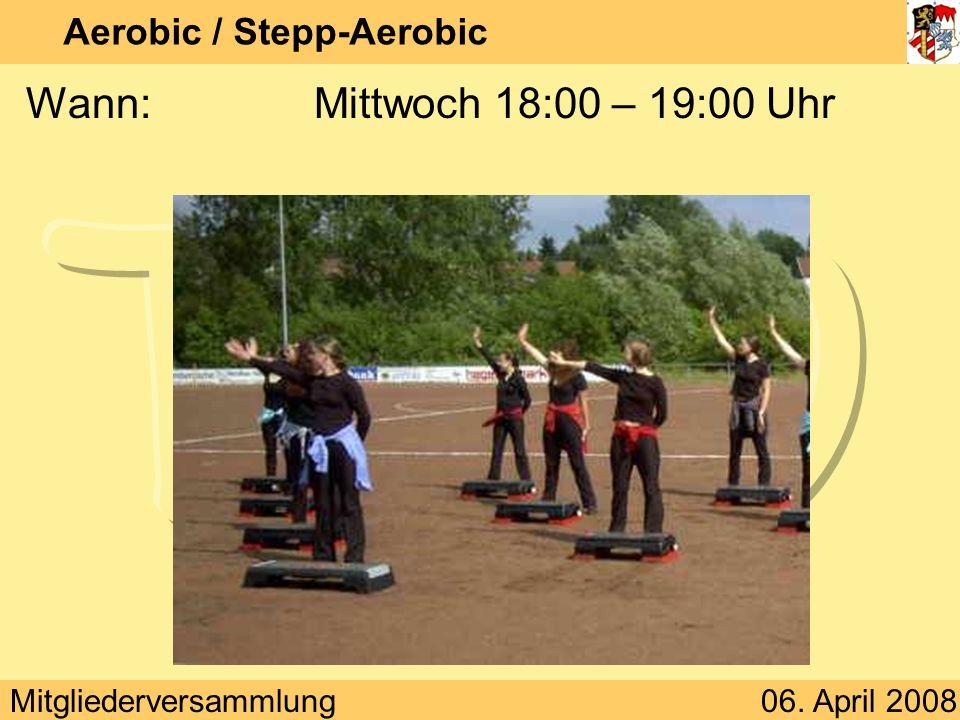 Aerobic / Stepp-Aerobic