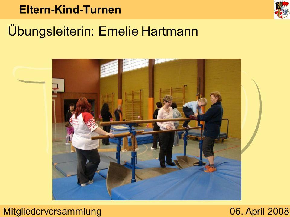 Übungsleiterin: Emelie Hartmann