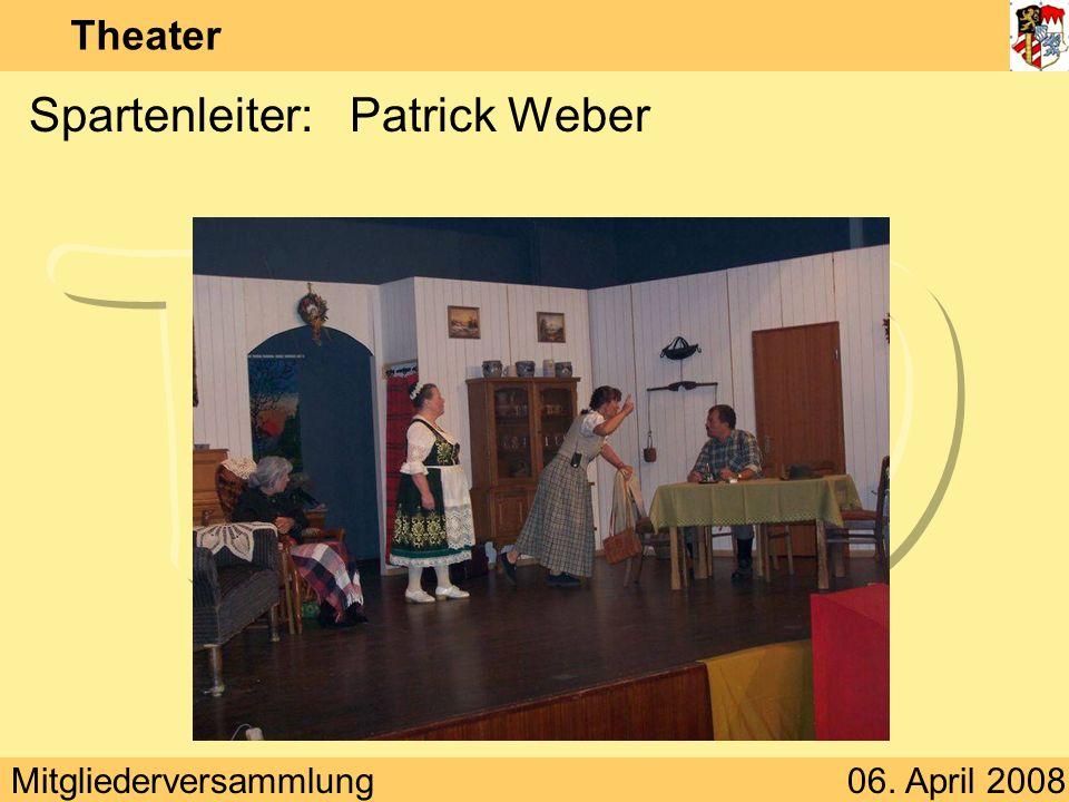 Spartenleiter: Patrick Weber