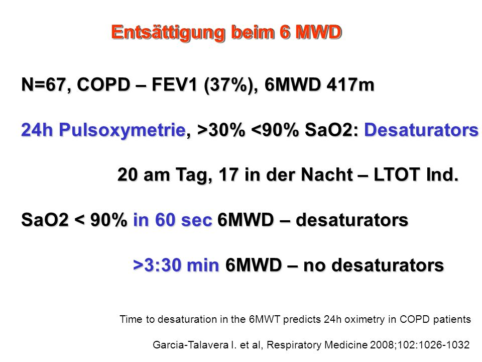 24h Pulsoxymetrie, >30% <90% SaO2: Desaturators