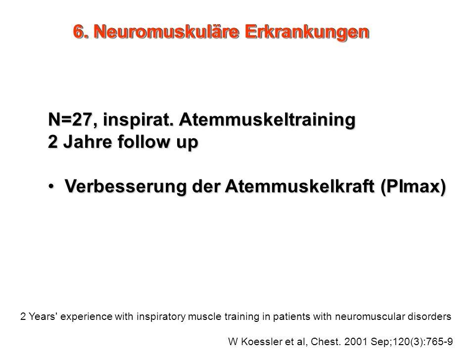 6. Neuromuskuläre Erkrankungen