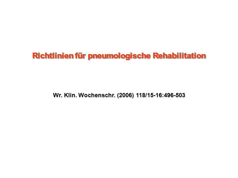 Wr. Klin. Wochenschr. (2006) 118/15-16:496-503