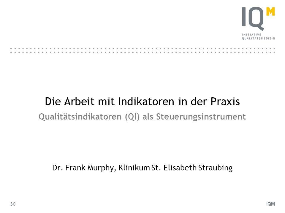 Dr. Frank Murphy, Klinikum St. Elisabeth Straubing
