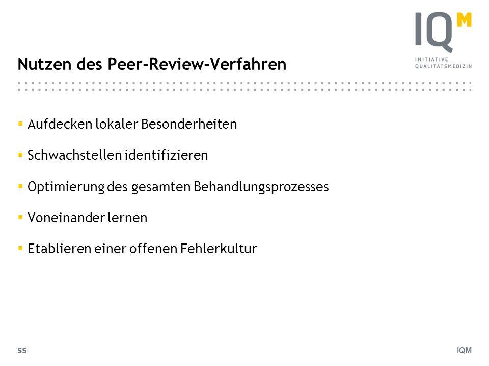 Nutzen des Peer-Review-Verfahren
