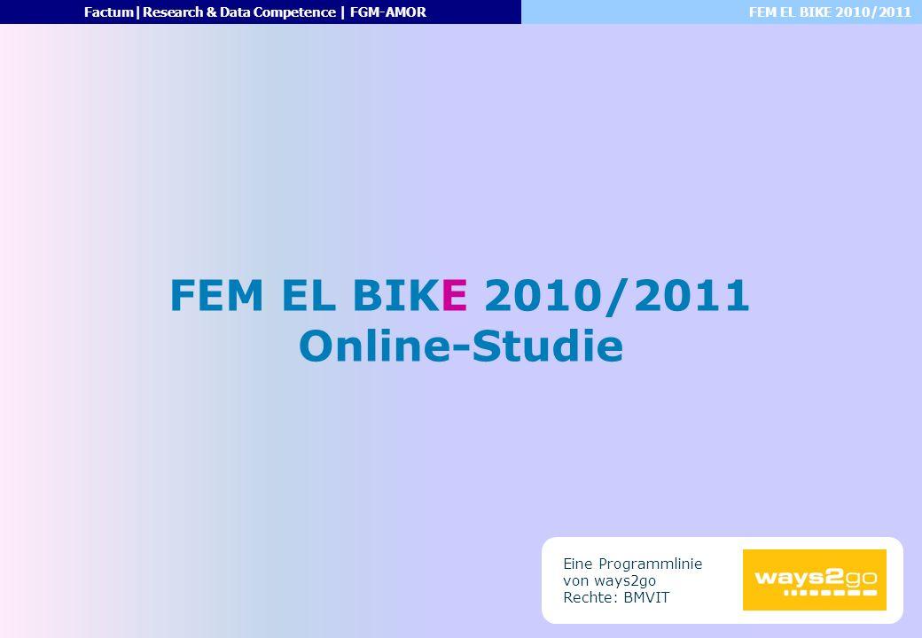 FEM EL BIKE 2010/2011 Online-Studie