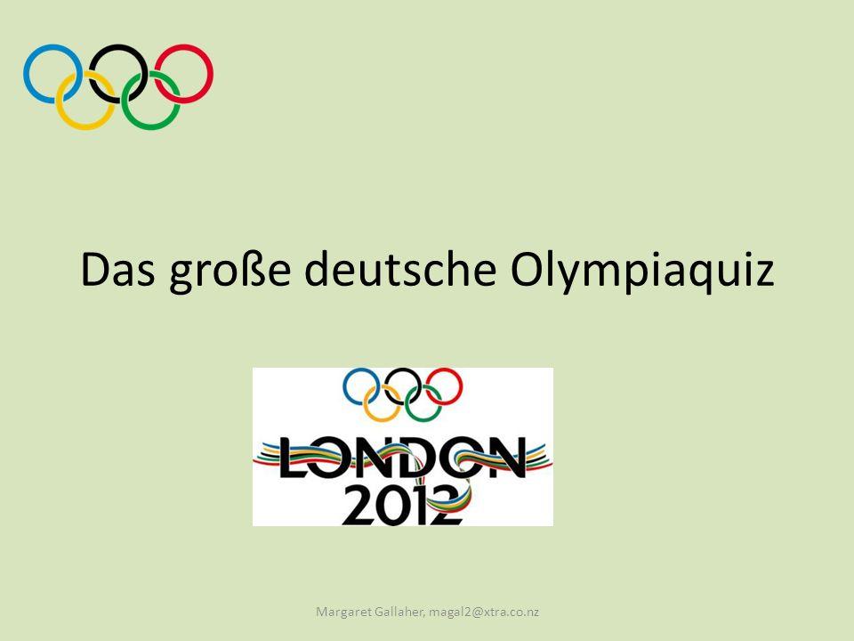 Das große deutsche Olympiaquiz