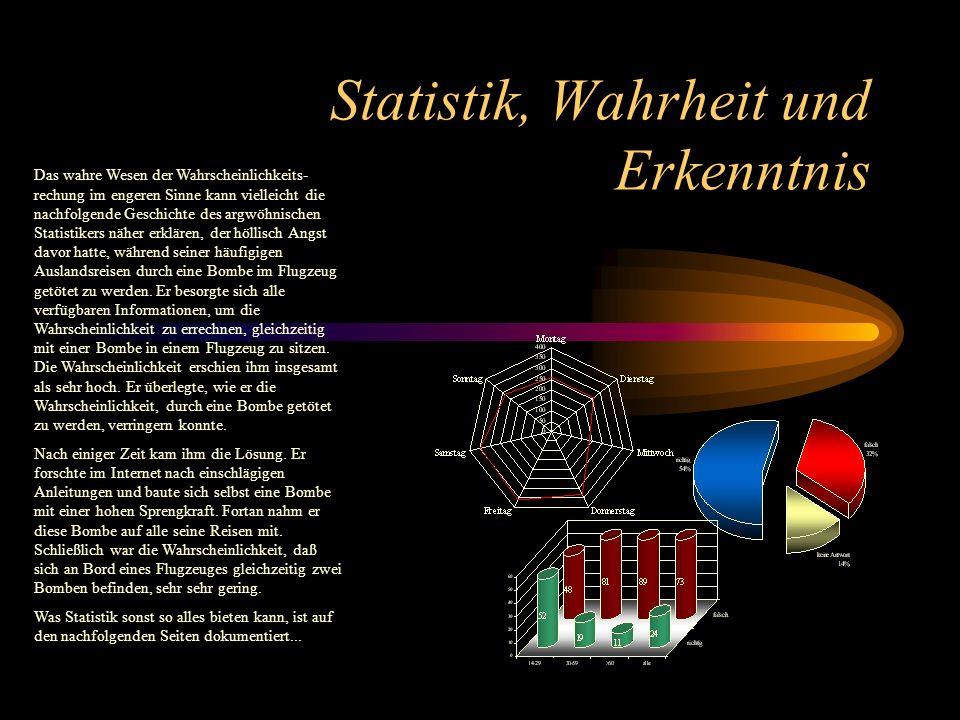 Statistik, Wahrheit und Erkenntnis