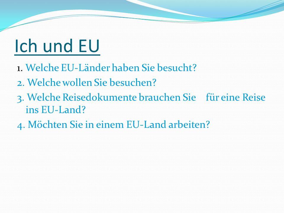 Ich und EU