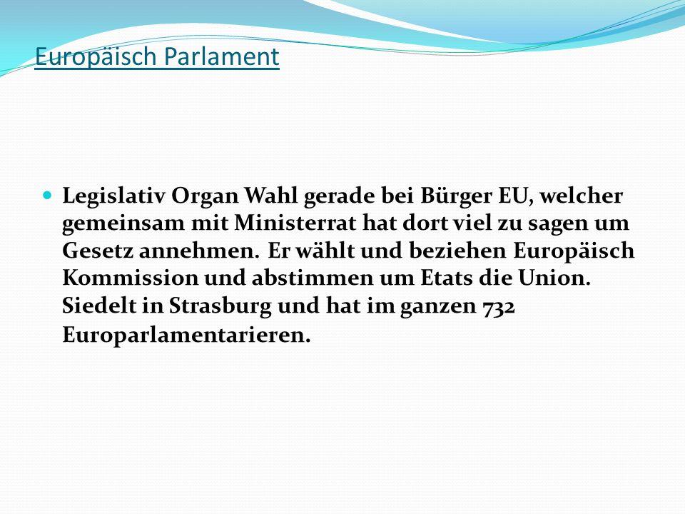 Europäisch Parlament