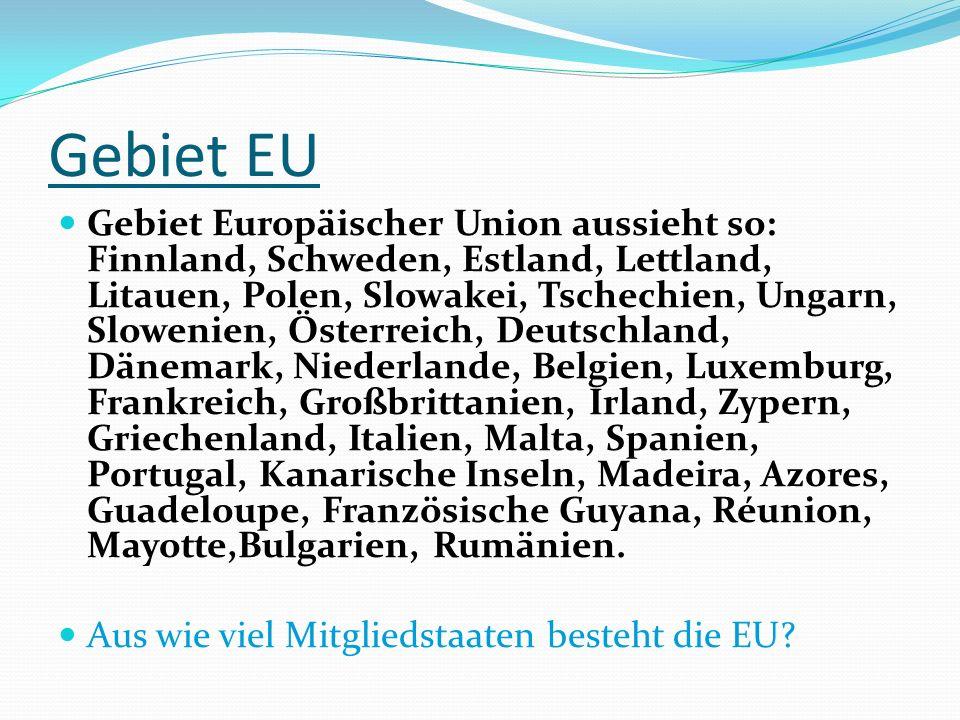 Gebiet EU
