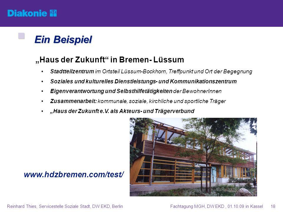 """Ein Beispiel """"Haus der Zukunft in Bremen- Lüssum"""