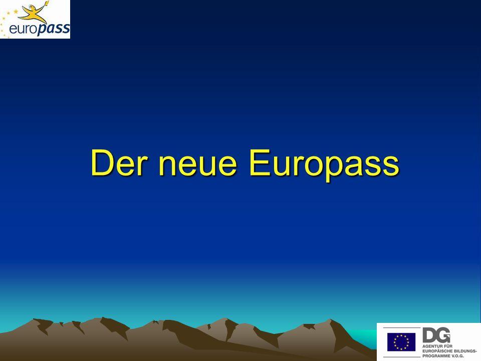 Der neue Europass