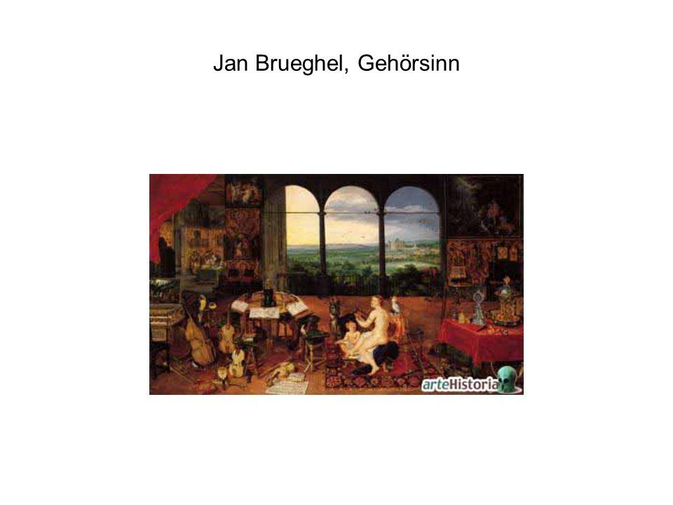 Jan Brueghel, Gehörsinn