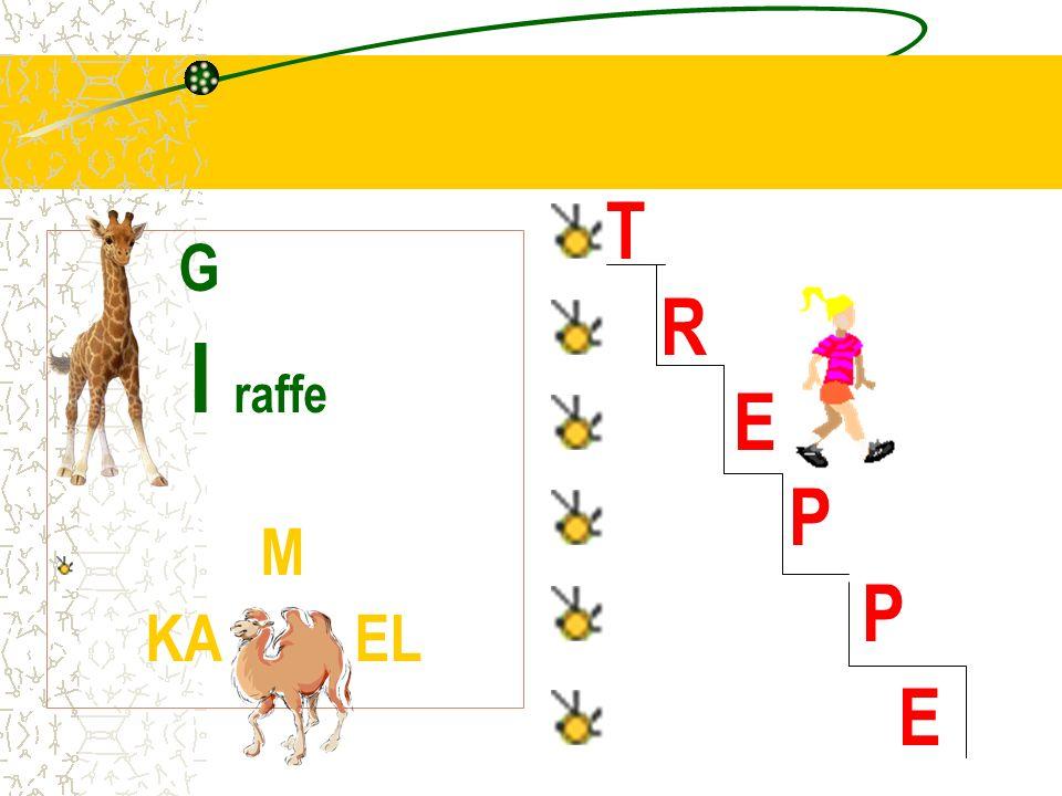 T R E P G I raffe M KA EL