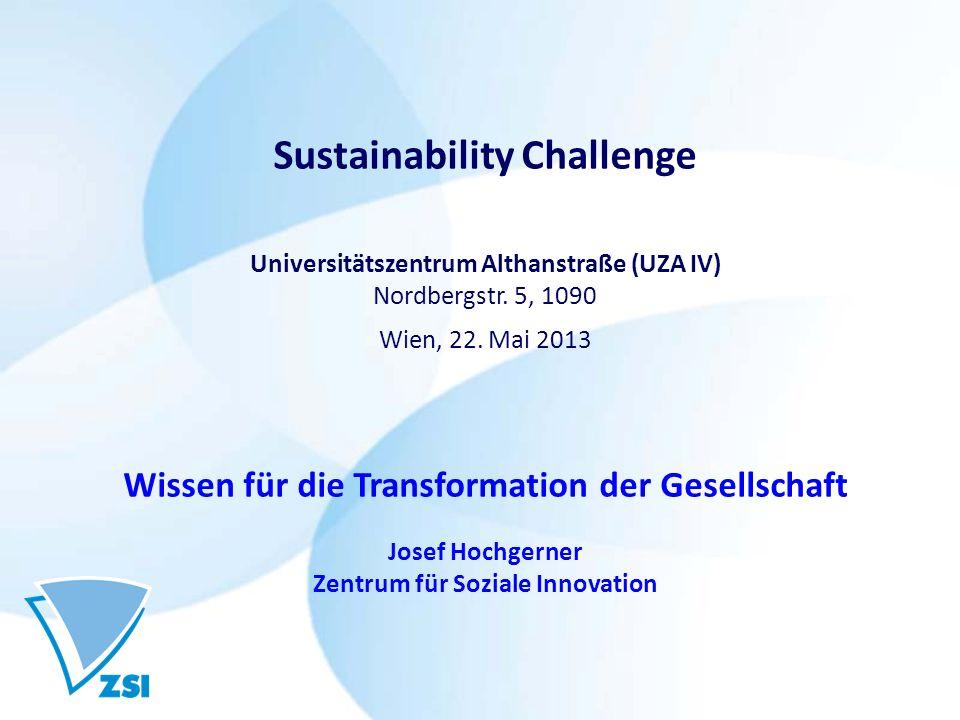 Sustainability Challenge