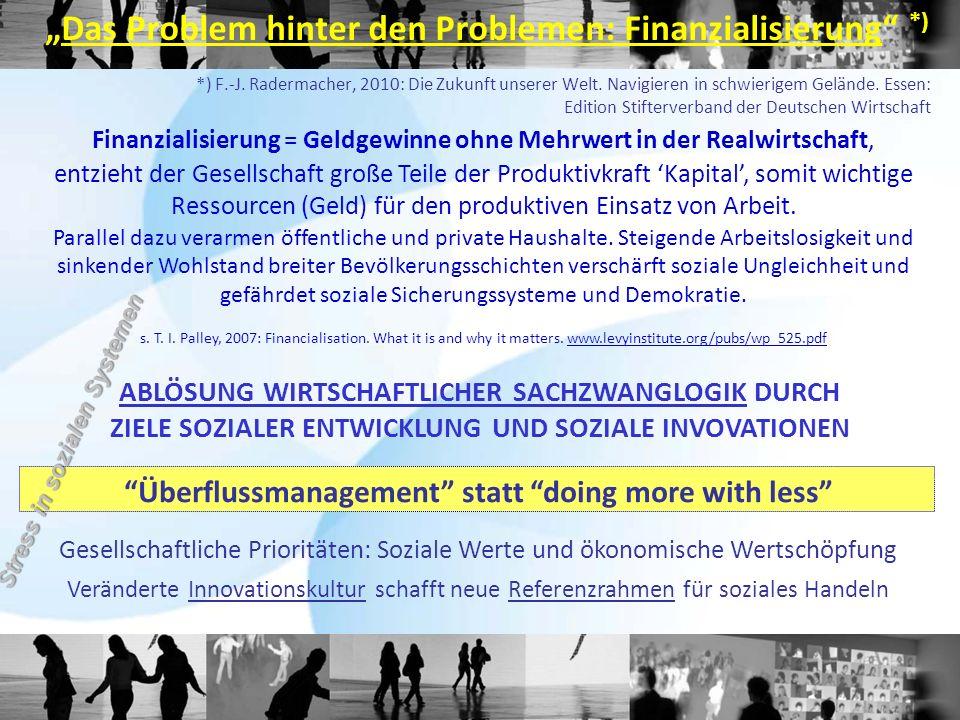 """""""Das Problem hinter den Problemen: Finanzialisierung *)"""