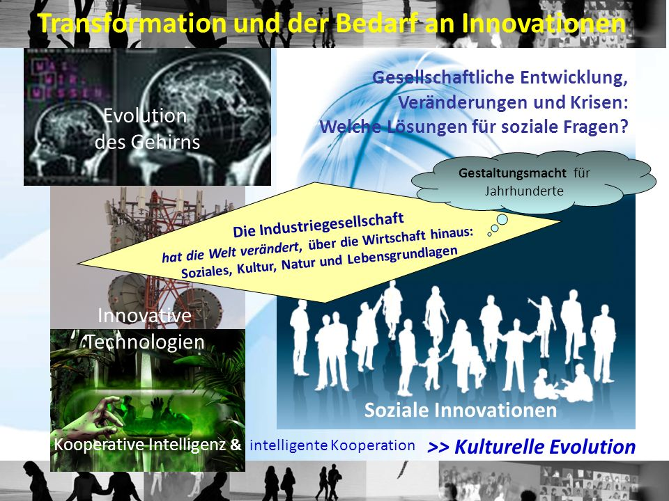 Transformation und der Bedarf an Innovationen