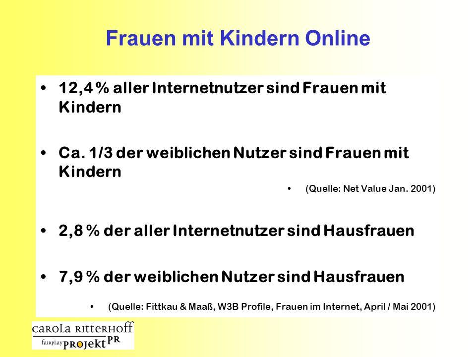 Frauen mit Kindern Online