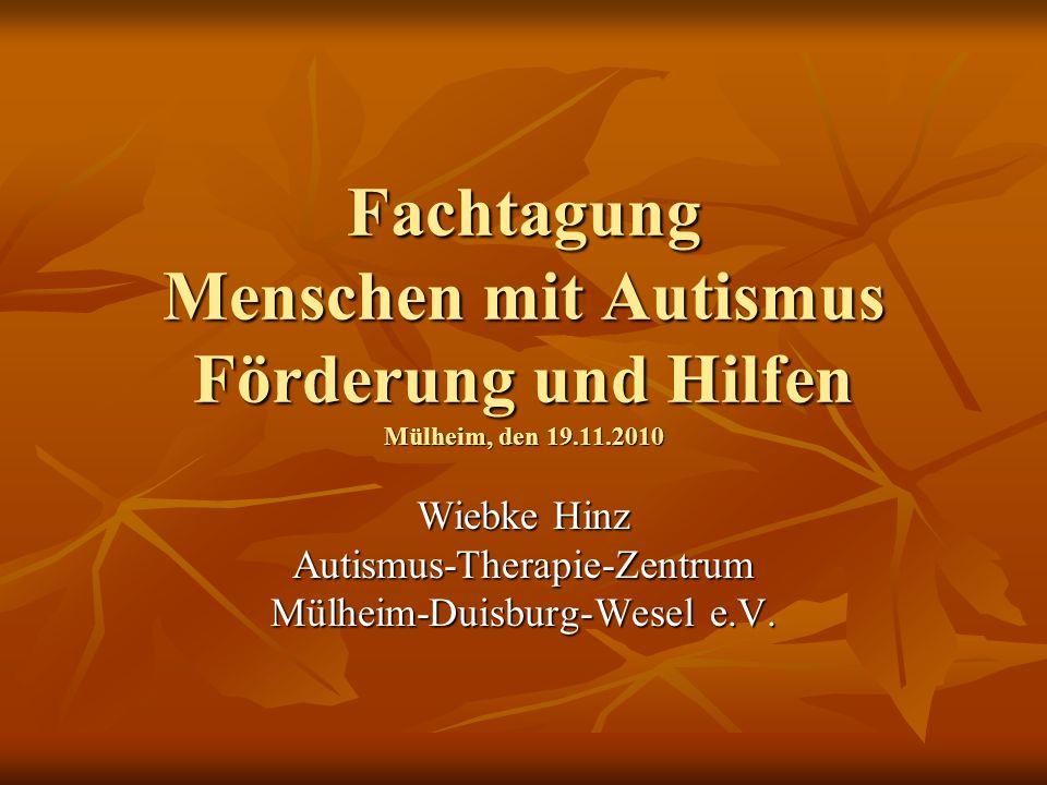 Wiebke Hinz Autismus-Therapie-Zentrum Mülheim-Duisburg-Wesel e.V.