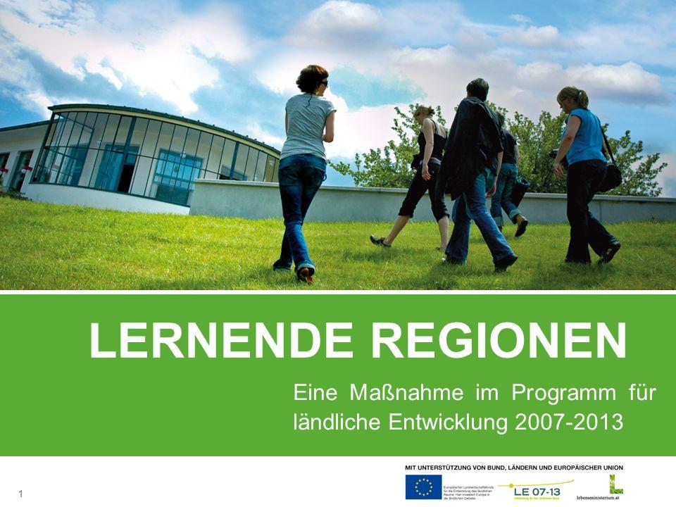 Eine Maßnahme im Programm für ländliche Entwicklung 2007-2013