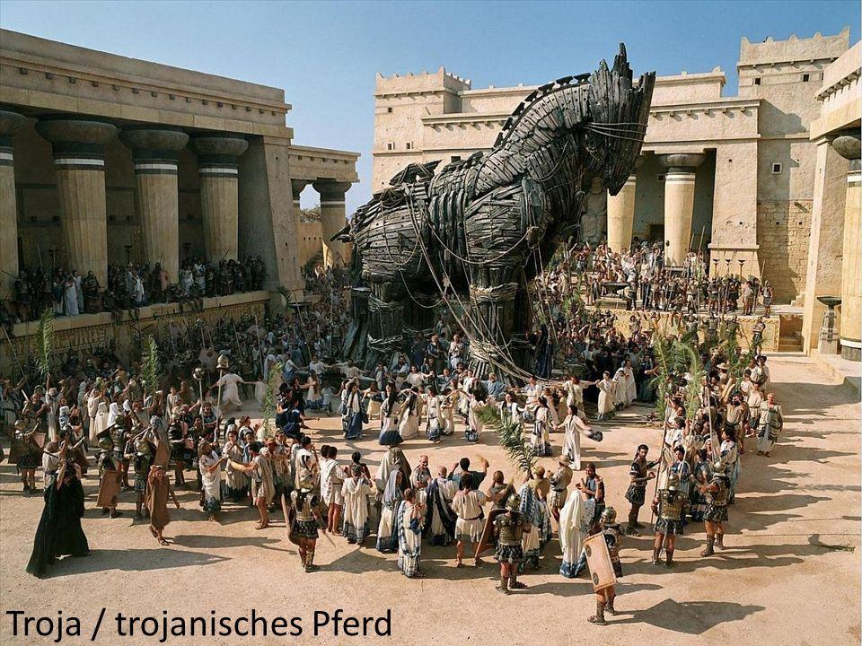 Troja / trojanisches Pferd