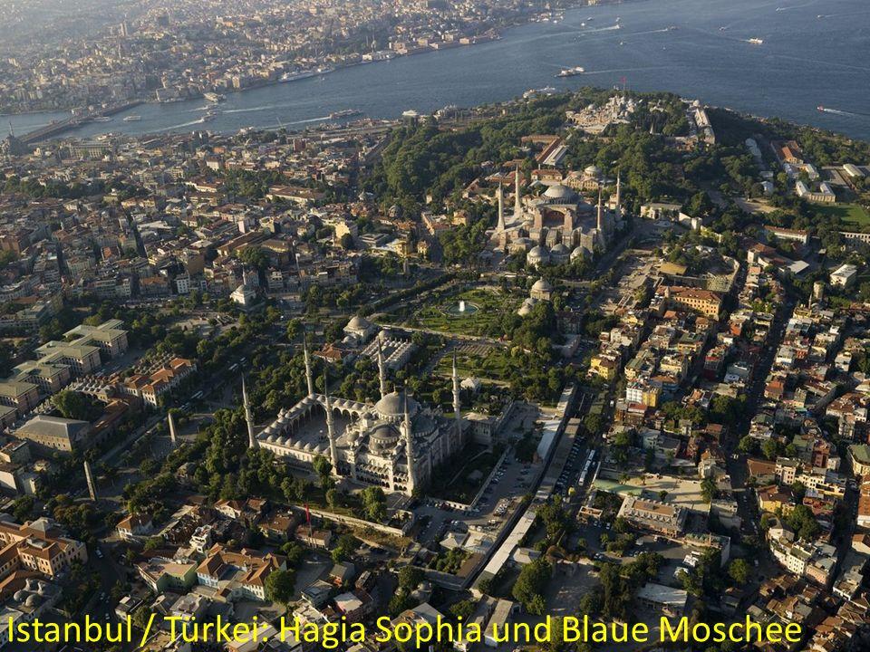 Istanbul / Türkei: Hagia Sophia und Blaue Moschee