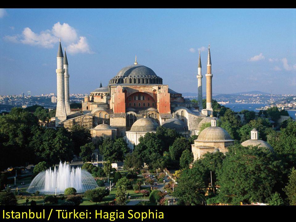 Istanbul / Türkei: Hagia Sophia