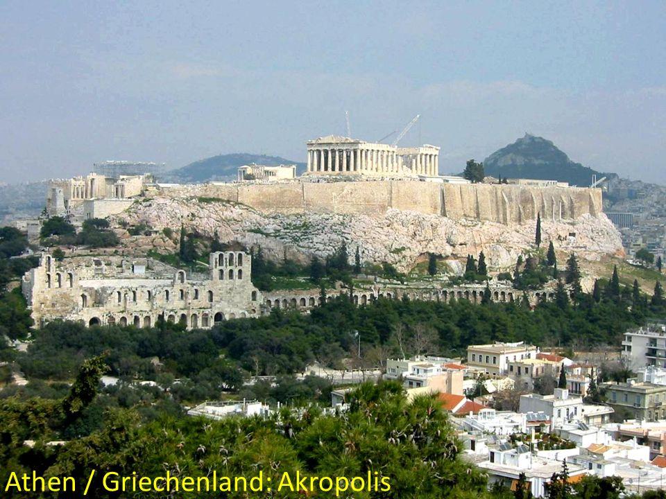 Athen / Griechenland: Akropolis