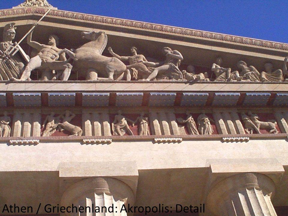 Athen / Griechenland: Akropolis: Detail