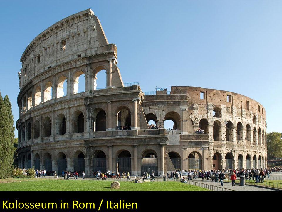 Kolosseum in Rom / Italien