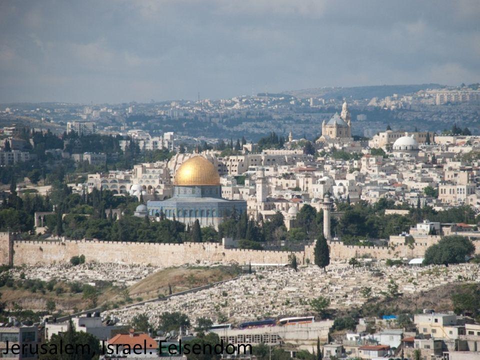 Jerusalem, Israel: Felsendom