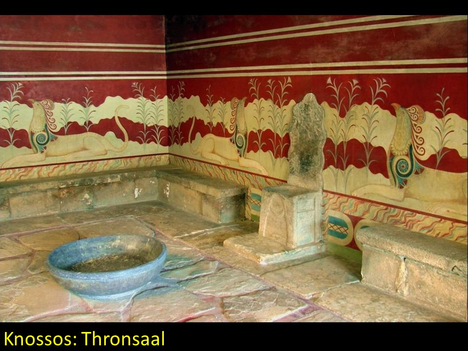 Knossos: Thronsaal