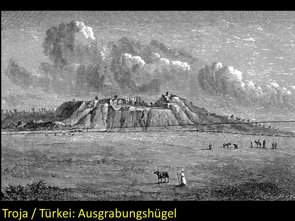 Troja / Türkei: Ausgrabungshügel