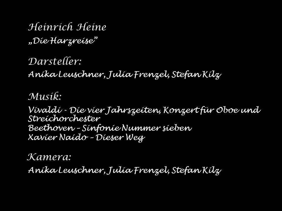 Anika Leuschner, Julia Frenzel, Stefan Kilz Musik:
