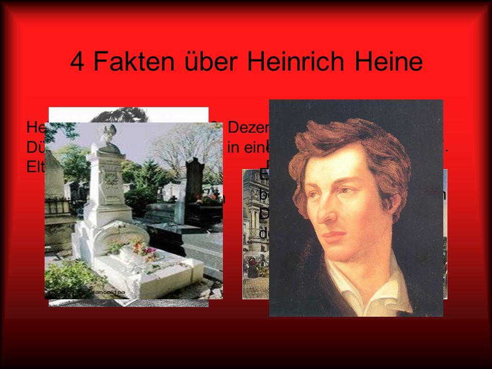 4 Fakten über Heinrich Heine