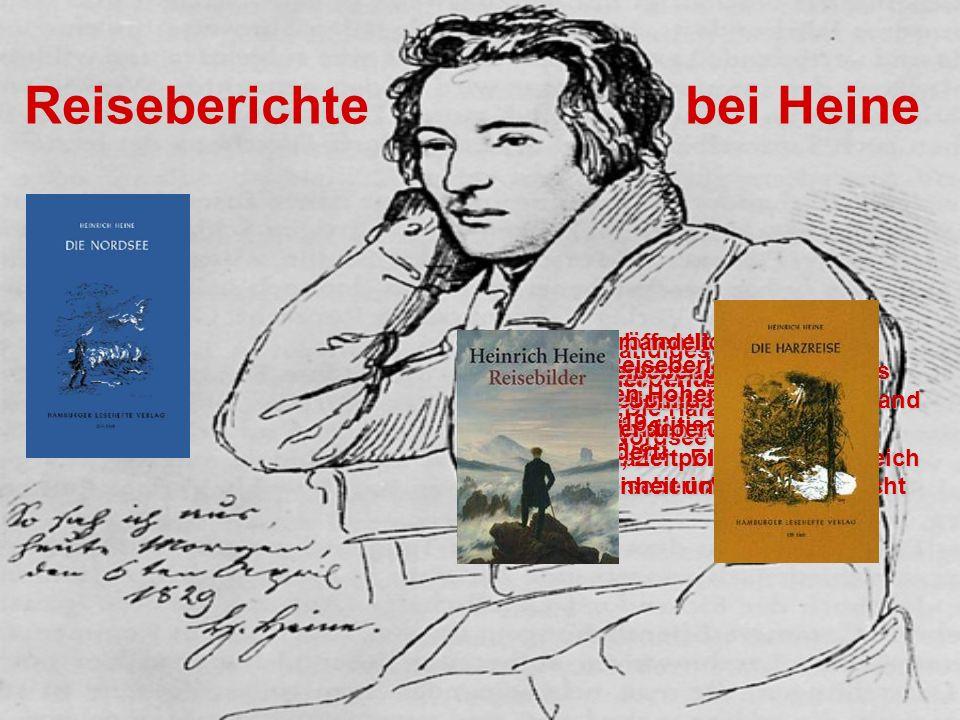 Reiseberichte bei Heine