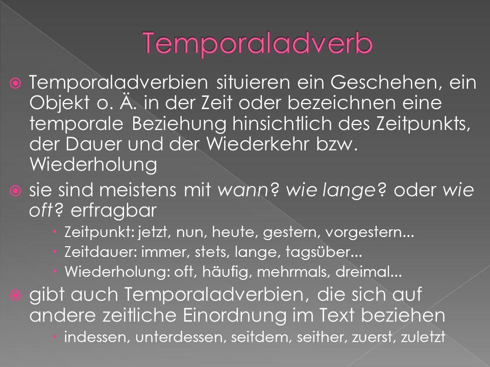 Temporaladverb