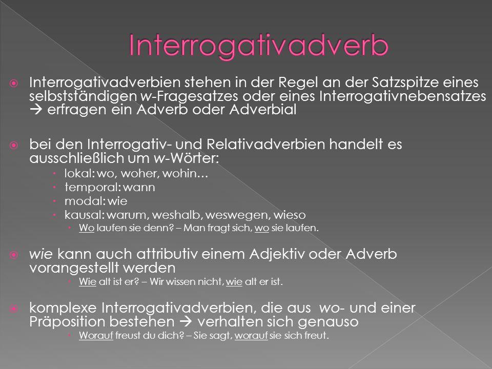 Interrogativadverb
