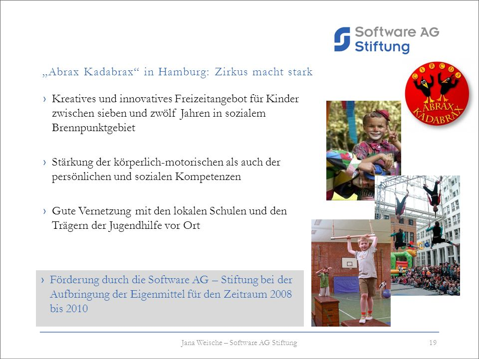 """Abrax Kadabrax in Hamburg: Zirkus macht stark"