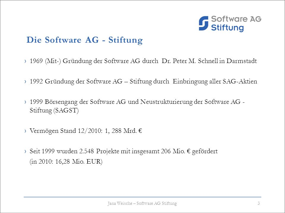 Die Software AG - Stiftung