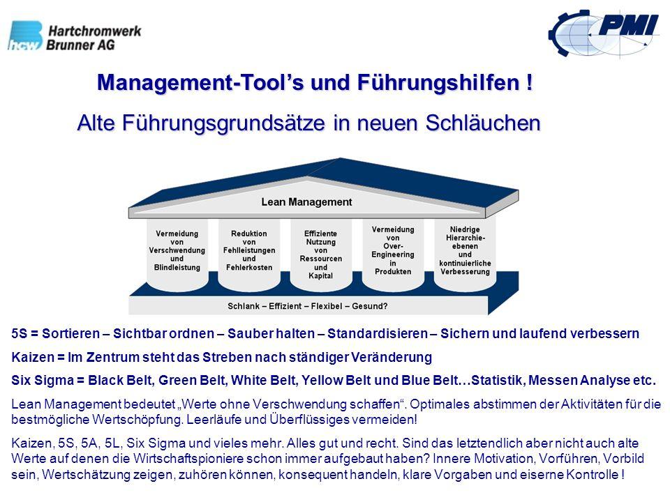 Management-Tool's und Führungshilfen !