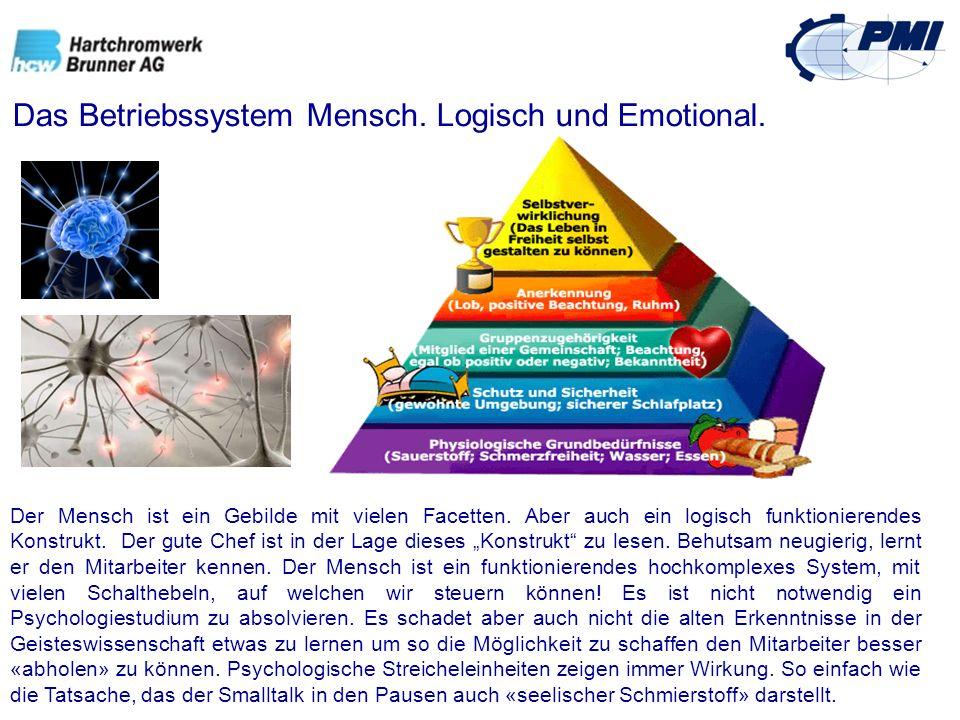 Das Betriebssystem Mensch. Logisch und Emotional.
