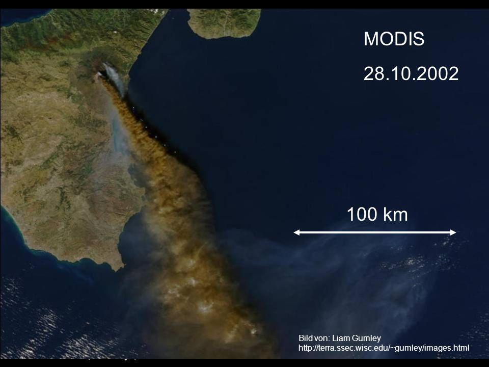MODIS 28.10.2002 100 km Stefan Bühler, SaMPhys, 22.11.2003